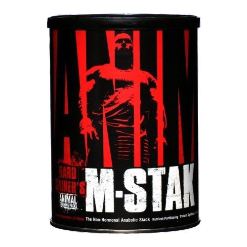 Universal Nutrition Animal M-Stak 21 Packs Non-Hormonal Anabolic Stack