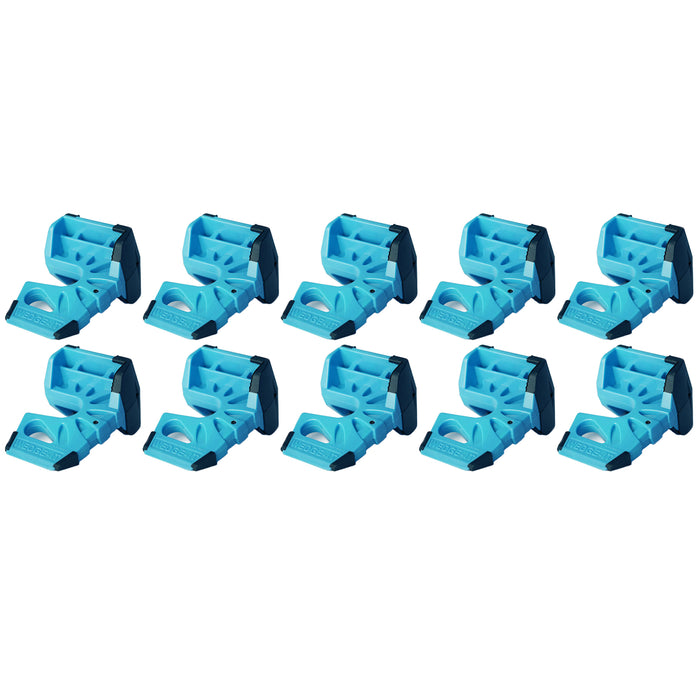 Wedge-It - The Ultimate Door Stop - Blue (10 Pack)