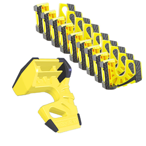 Wedge-It - The Ultimate Door Stop - Bright Yellow (10 Pack)