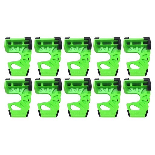 Wedge-It - The Ultimate Door Stop - Lime Green (10 PACK)