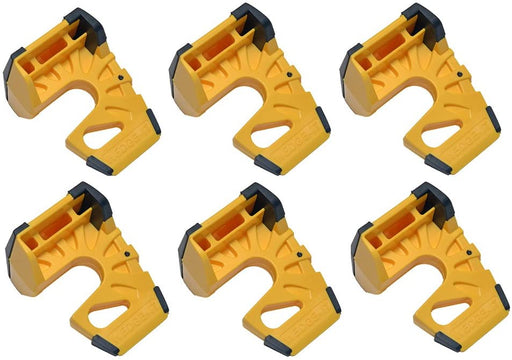 Wedge-It - The Ultimate Door Stop - Yellow (6 Pack)