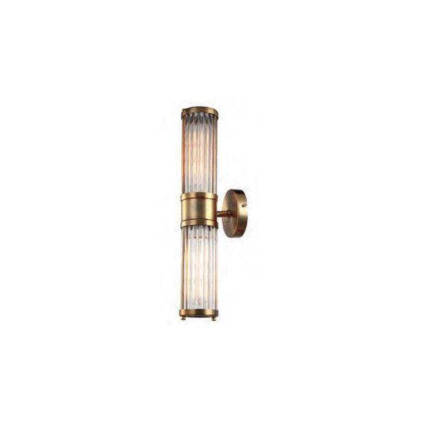Brass Rod Wall Light