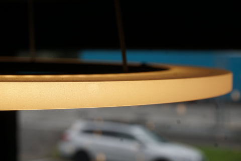 Halo Flat Pendant at Murano Plus, Lighting Specialists in Auckland
