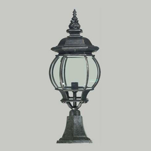 Frente Pillar Mount Lamp Post at Murano Plus, Lighting Specialists in Auckland