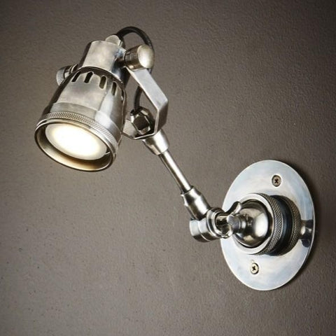 Houston Long Arm Wall Lamp at Murano Plus, Lighting Specialists in Auckland