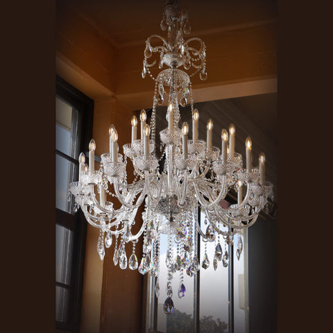 King Edward Chandelier at Murano Plus, Lighting Specialists in Auckland