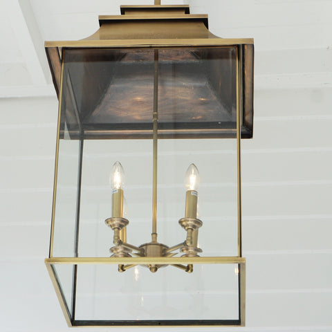 Brass Lantern Lantern at Murano Plus, Lighting Specialists in Auckland