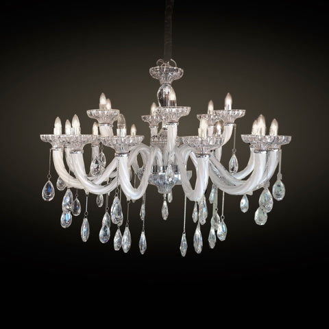 Urano Small Chandelier at Murano Plus, Lighting Specialists in Auckland