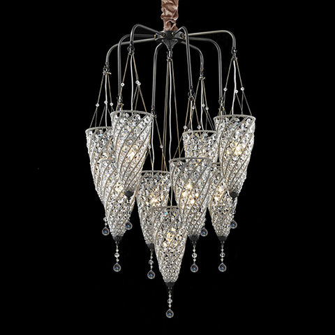 Glanz Chandelier at Murano Plus, Lighting Specialists in Auckland