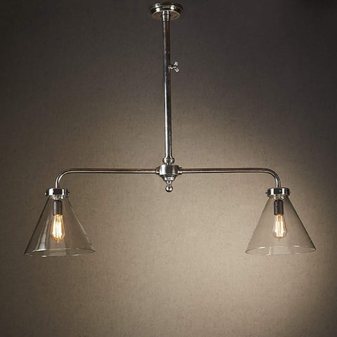 Exeter Two Arm Pendant at Murano Plus, Lighting Specialists in Auckland