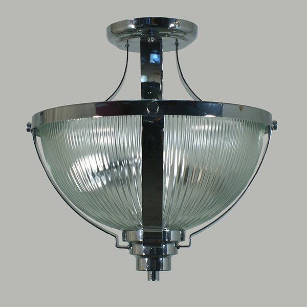 Salon Semi Flush 2 Light Wall Sconce