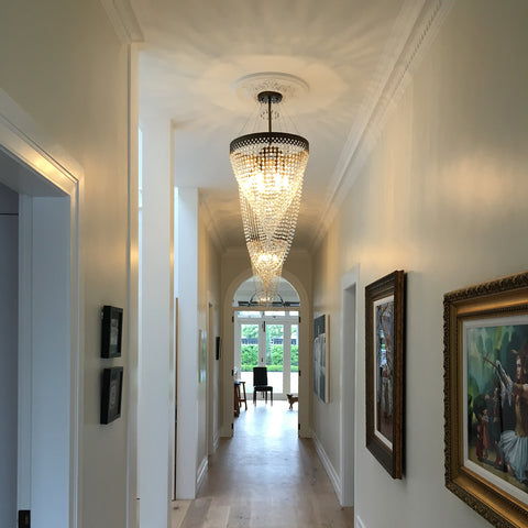 Alexas Chandelier at Murano Plus, Lighting Specialists in Auckland