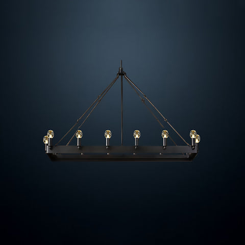 Toscana - Rectangle Small Pendant at Murano Plus, Lighting Specialists in Auckland