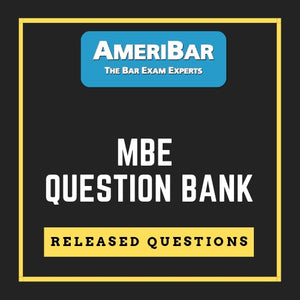 1400+ MBE Released Questions