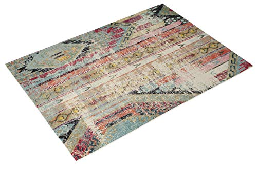 Multi-colored Native Latin American Rug Boho