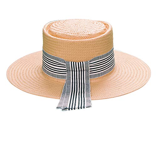 Wide Brim Straw Panama Hat