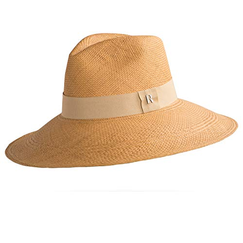 Handmade Eva Wide Brim Panama Honey
