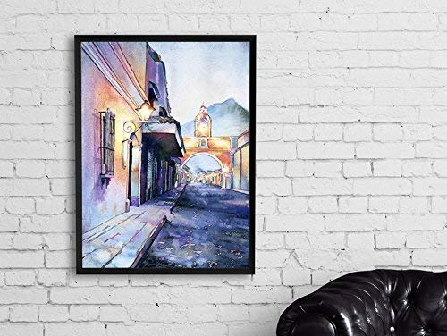 Print of Arch of Santa Catalina in Antigua, Guatemala 12x18""