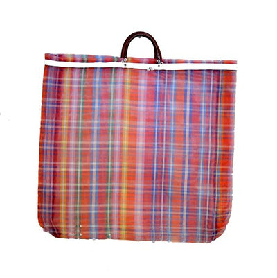 Set of 3, Mexican Tote Grocery/Beach Bags, 23 Inches High by 24 Inches Wide. Assorted Colors