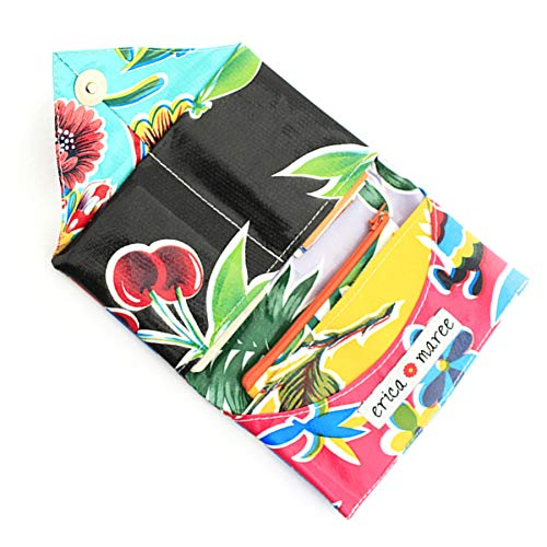 Envelope Wallet Tropical Blues