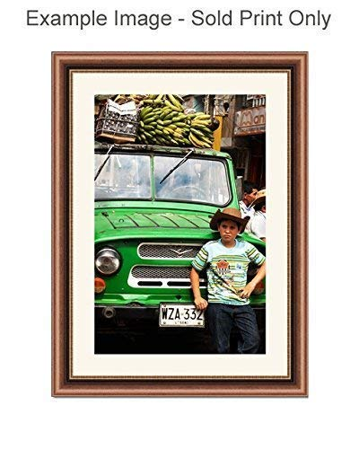 Colombian Farm Boy Photo Print