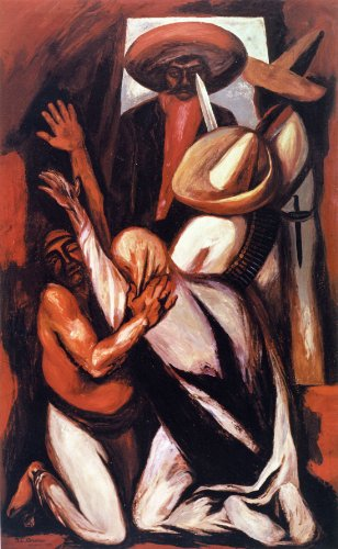 Emiliano Zapata-Jose Clemente Orozco - CANVAS OR FINE PRINT WALL ART