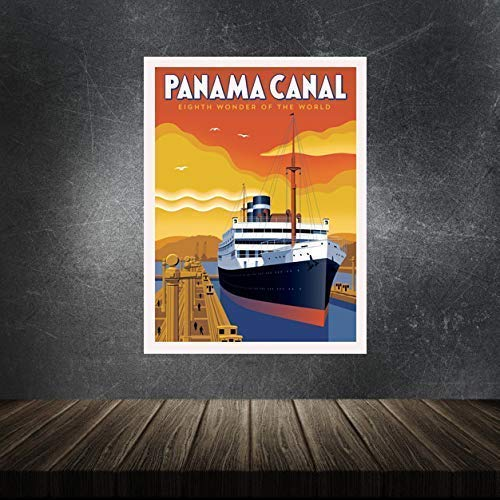 Panama Canal Wall Poster