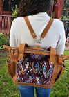 Handmade Convertible Backpack Shoulder Bag