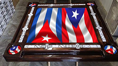 Puerto Rico and Cuba Themed Domino Table