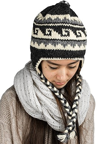 Soft Latinx Design Warm Wool Hat