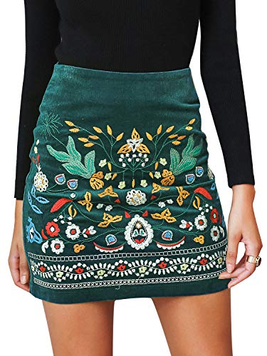 Boho Inspired Skirt with floral design