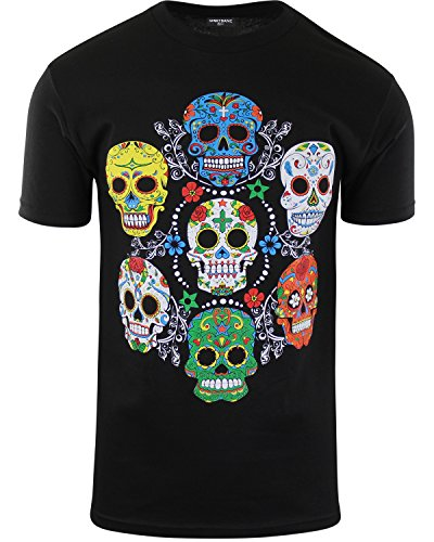 Mexican-American Inspired Sugar Skull Shirt