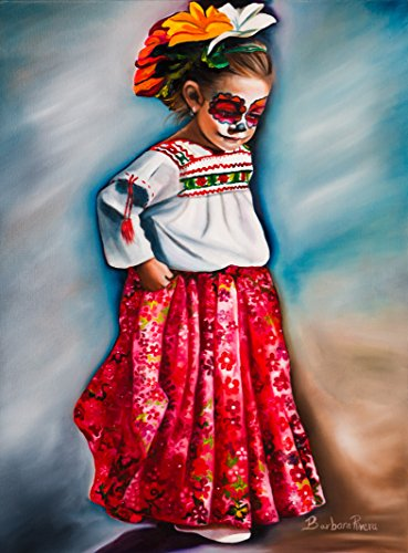 """Little Red Dancer"" 11"" x 17"" Original Barbara Rivera Art Poster"