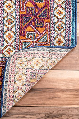 "nuLOOM Marisela Tribal Area Rug, 5' x 7' 5"", Navy"