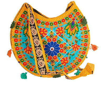 Floral Colorful Shoulder Bag Crossbody Hobo Satchel