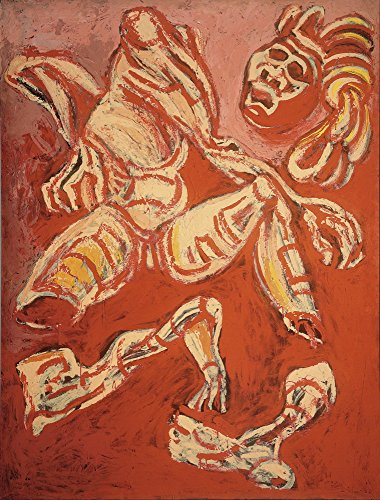 Jose Clemente Orozco Giclee Canvas Print Paintings Poster Reproduction (The Dismembered Man from the Los teules series)