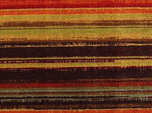 Mohawk Home Multicolor New Wave Boho Stripe Area Rug (6'x9')