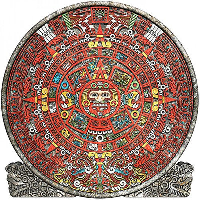 Wallmonkeys Mayan Calendar Peel and Stick Wall Decals WM240550 (36 in H x 36 in W)