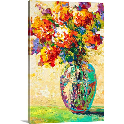 "Abstract Bouquet IV Canvas Wall Art Print, 24""x36""x1.25"""