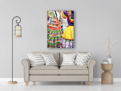 Traditional Colombian Festival Dresses Photo Print