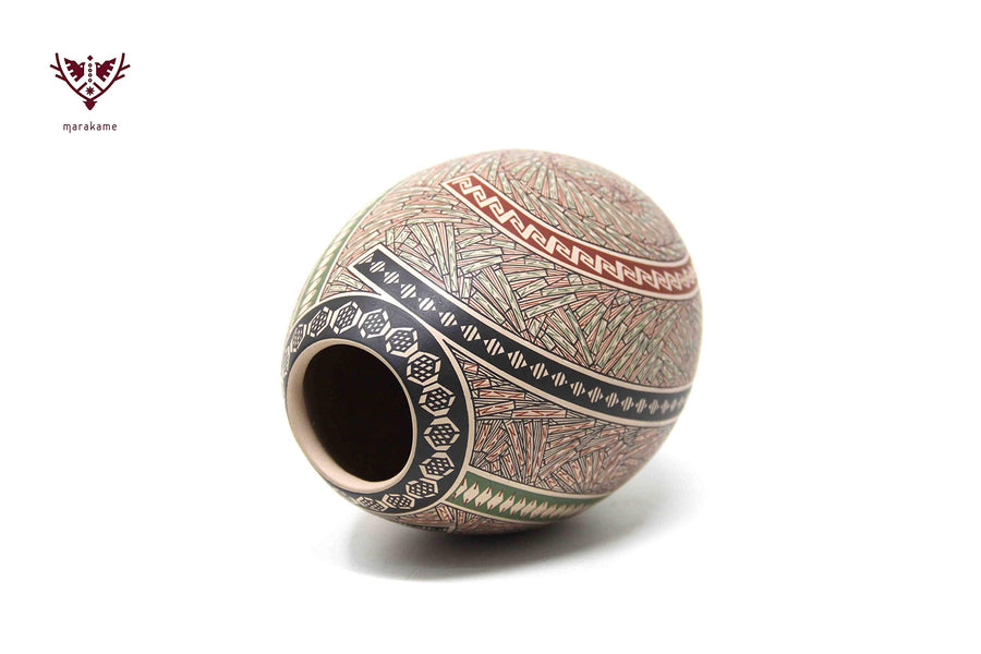 Pottery from Mata Ortiz Chihuahua - Medium size piece II