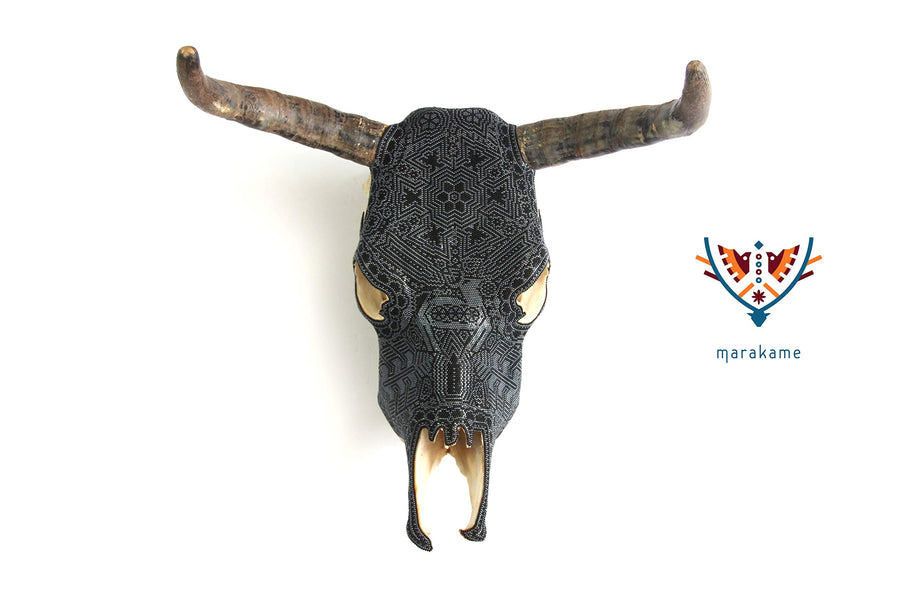 "Huichol Cow Skull""It+Ri"""