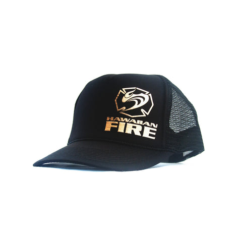 Hawaiian Fire Maltese Foil Trucker Hat