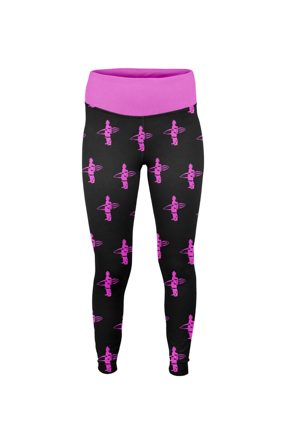 Women's 'Surfing Firefighter' Leggings