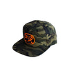 Hawaiian Fire 3d Maltese Wave Hat - Camo