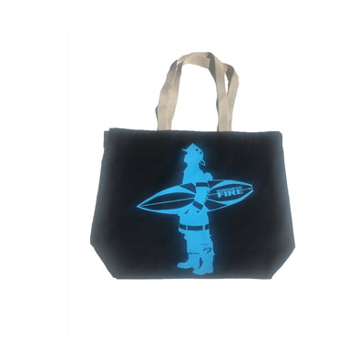 Surfing Firefighter Tote