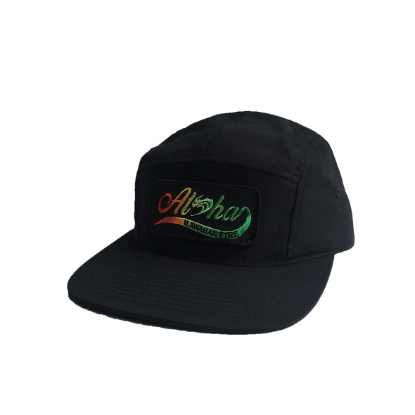 Hawaiian Fire Aloha Flow Patch - 5 Panel Hat