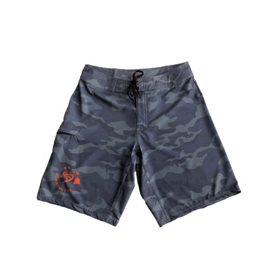 Men's Hawaiian Fire Circle Boardshorts - Camo
