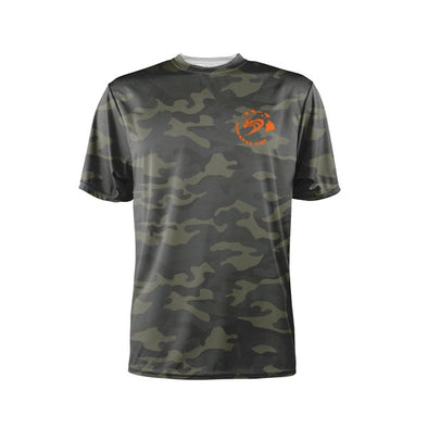 S/S Paddling Shirt Hawaiian Island Wave - Camo