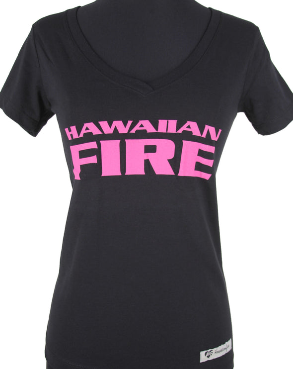 HF Women's Stacked V-Neck